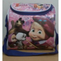 Tas Bekal model Kodok Masha and the bear