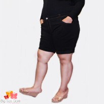 Black Hotpants Bigsize
