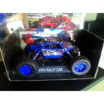RC Rock Crawler CAPTAIN AMERICA 1/18 Scale 4WD 2.4G Rally Car 3293