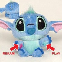 Boneka Rekam Karakter Stitch Disney Lilo Recorded Dolls Toy Mainan Art