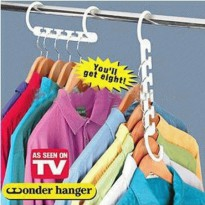WONDER HANGER as seen on tv ( 1 BOX ISI 8PCS )
