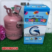 Tabung Gas Helium Size S - 6,8Liter