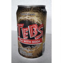 TEBS Tea with Soda Can/ Minuman TEBS Kaleng 330ml