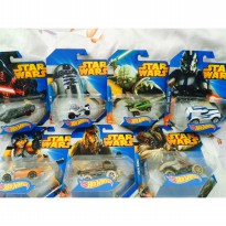 Hot wheels star wars 7in1 complete Set