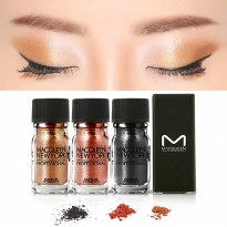 [MACQUEEN] New York - Pigment Eyeshadow - Natural/Glam Look -