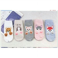 Kaos Kaki Korea Animal Foot Print