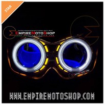 Projector AES6 Ninja 250 R Carbu + Headlamp