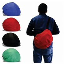 New Arrival IBS Cover Sarung Tas Helm Jas Hujan Helm Raincoat Anti Air Slingbag Polos Murah!