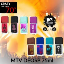 MTV PERFUMES FOR HIM/HER 75ML EDP