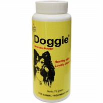 DOGGIE MEDICATED POWDER for healthy skin & lovely clean coat