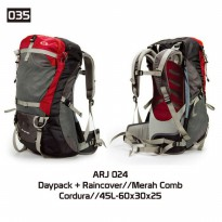 Tas Outdoor Gunung 45 Liter Carier Hiking Model Eiger Consina Murah