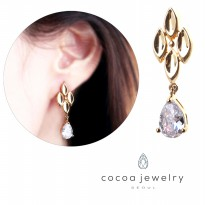 Cocoa Jewelry Anting Wild Flower