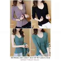Cardigan Import Knit 2 in 1 118819S