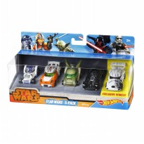 Hot Wheels Star Wars 5 Pack