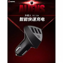 Car Charger Remax Rcc304 Aliens 4.2a 3usb Port
