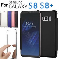 Samsung S8 | Smart Clear View | Flip Mirror Case Cover Autolock For S8