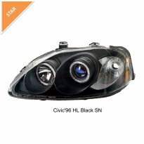 Headlamp Civic Ferio Projector Sonar