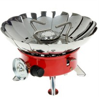 Wind-Proof Kompor Portabel Anti Angin Camping Portable Stove