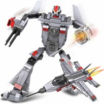 TRANSFORM WARRIOR THUNDER 258 PCS SNI AGES 6 + BEST BUY