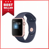 Apple Watch 2 Series 2 - 42mm Rose Gold Aluminum Case with Midnight Blue Sport Band - Garansi Resmi
