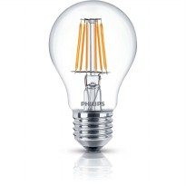 PHILIPS LED Classic 7.5W A60 E27 220-240V Warm White Clear Dimmable