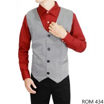 Vest For Mens Katun Abu Muda – ROM 434