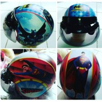 Helm Bogo Original Anak Karakter umur 3-7 th