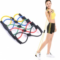 IBS Resistance Band Arms Tali Stretching Yoga Fitness Wanita Exercises Gym