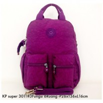 Tas Ransel Kipling Backpack Handbag Selempang  3in1 6 R 3011 - 3