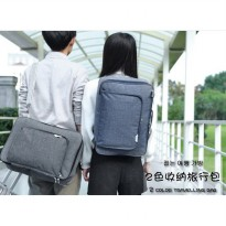 XY Street Shopper Travel Bag / Tas Multifungsi Selempang backpack
