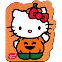 [HelloPandaBooks] Hello Kitty Halloween (ORANGE) Scented Chunky Book
