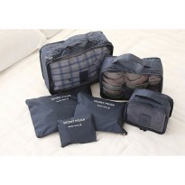 Monopoly Travel 6 in 1 Bags in bag Travel Organizer ( 1set = 6 bags )