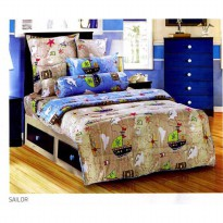 Hot Deal's Bed Cover Single Size 150 X 220 Type SAILOR Kode201