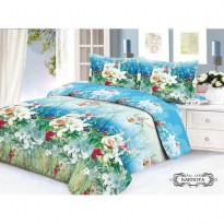 Hot Deal's 'V-Bed' Bed Cover + Sprei Set 160x200x30 No.2 Queen Size!