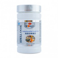 Calcium Iron and Zinc Chewable Tablet - Woo Tekh
