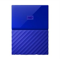 WD My Passport New Portable Harddisk Biru 1 TB