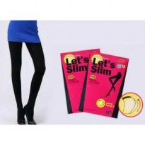 let's slim legging original stocking celana pelangsing wanita body art