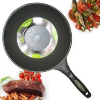 Fry Pans Diamond Coated 26 cm ( Teflon Anti Lengket )