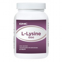 GNC L Lysine 1000  90 tablet