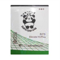BATTERY BATERAI DOUBLE POWER DOUBLE IC RAKKIPANDA EVERCOSS CROSS B75 ELEVATE Y3 PLUS 4000mAh