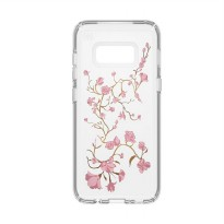 [Star Product] SpSpeck Galaxy S8 Case Presidio Clear & Print - Golden Blossom Clear
