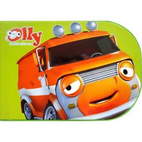 [HelloPandaBooks] Olly My Chunky Story Book BAZZA THE ORANGE VAN