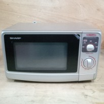[ Sharp] Microwave Sharp R-222Y (silver)