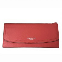 Authentic Coach Leather Soft Wallet