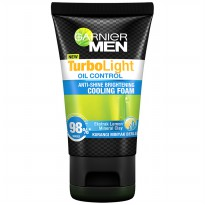 GARNIER MEN Turbo Oil Control Cooling Foam 100ml