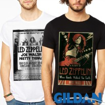 Kaos Band Pria GILDAN Original | Led Zeppelin | Limited Stock!