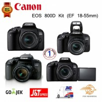 Canon EOS 800D Kit 18-55mm - Black Resmi Promo