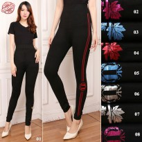 Cj Collection Celana legging sport wanita jumbo long pant celana senam Lani
