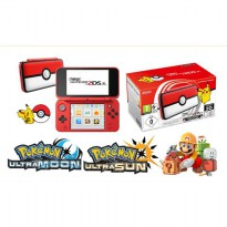 Nintendo New 2DSXL New 2DS XL Pokeball Edition 64GB CFW Permanent