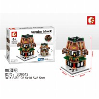 Mainan Sembo Block Model SD6512 Bar